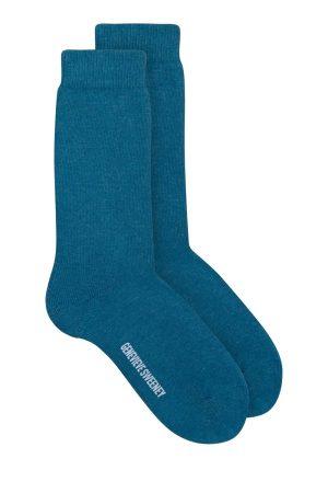 Luxury Cotton Socks teal