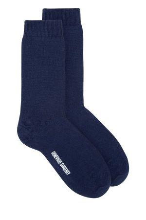 Luxury Cotton Socks navy