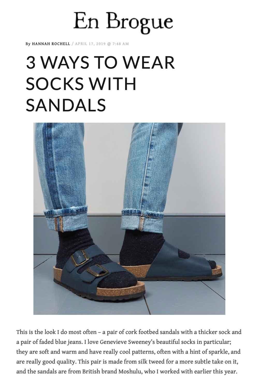 Hosiery Heaven   Socks & Sandals   Genevieve Sweeney