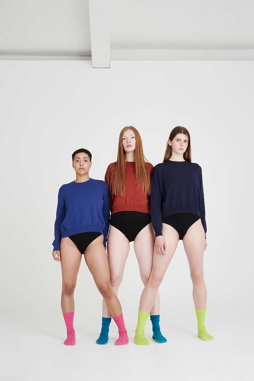 Slouch summer knitwear girl power