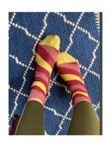 Rhubarb & Custard Socks