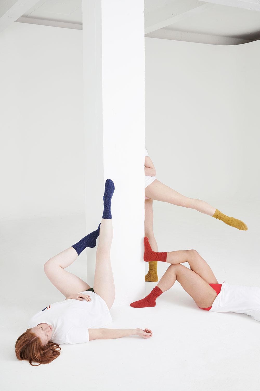 colourful cosy wool womens socks