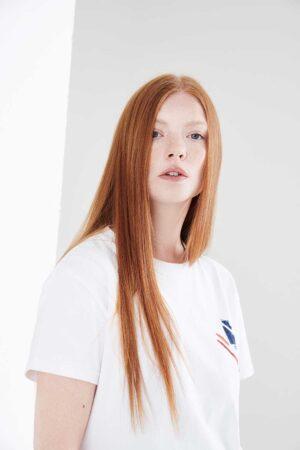 British white tshirt heavy cotton knit
