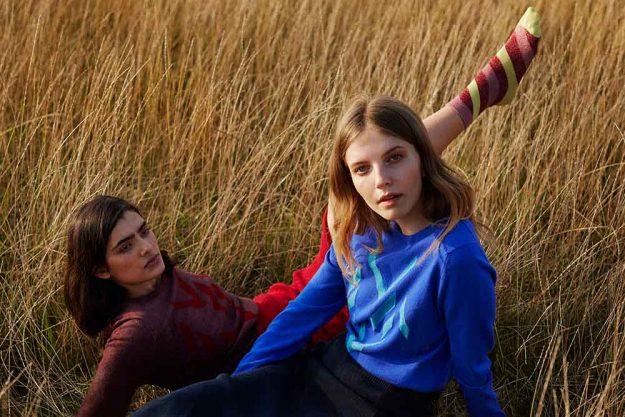 womens cashmere British knitwear made in Britain