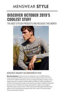 menswear style British knitwear cashmere