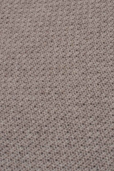 british knitwear moss stitch lambswool natural beige