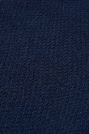 british knitwear moss stitch lambswool navy blue