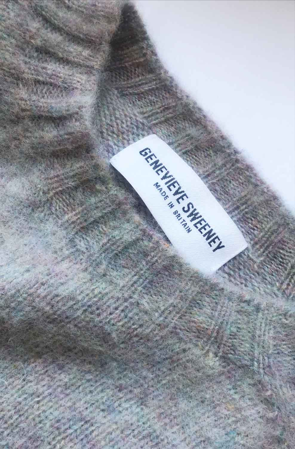 brushed wool womens spring sweater made in Britain