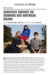 menswearstyle podcast british brand founder interview