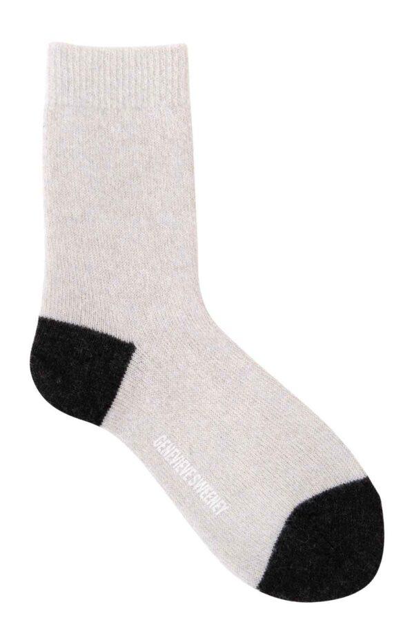 lounge sock merino cashmere