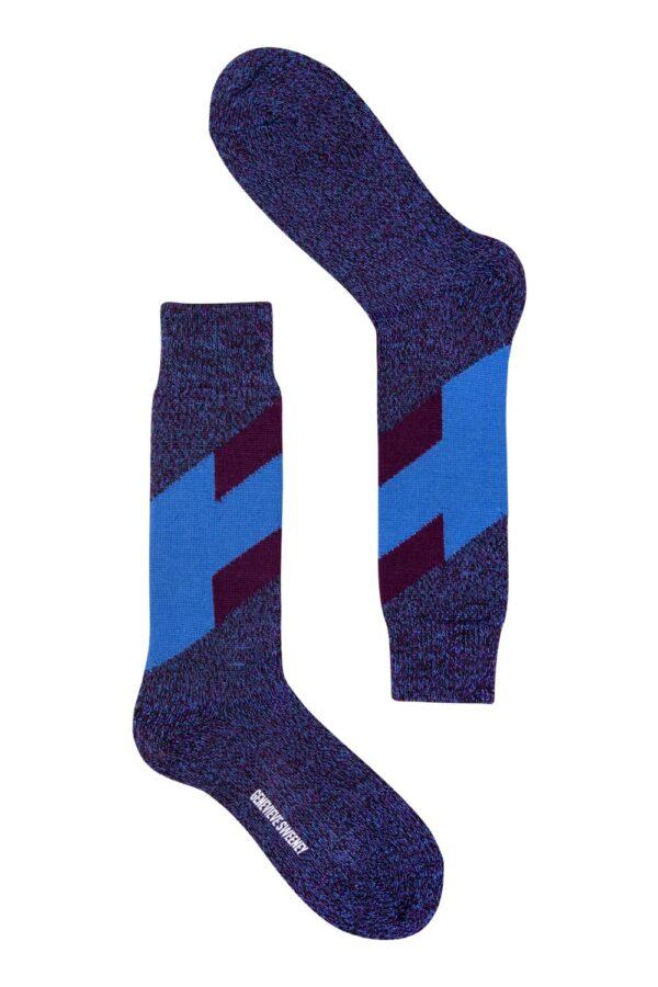 Severn Merino Sock Indigo - British Made 2
