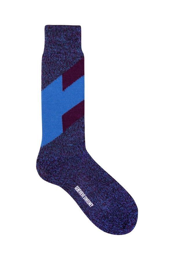 Severn Merino Sock Indigo - British Made