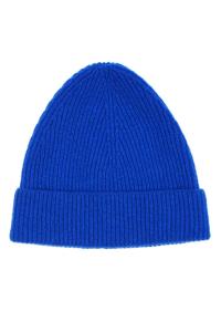 Lambswool Beanie Bright Blue - British Made