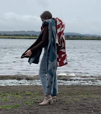 Genevieve Sweeney British Knitwear Designer Scarves